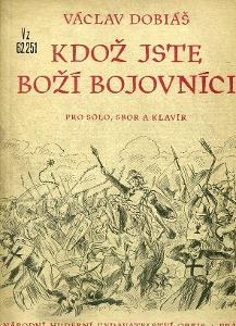 NOTY - Kdož jste boží bojovníci - Václav Dobiáš - 1952
