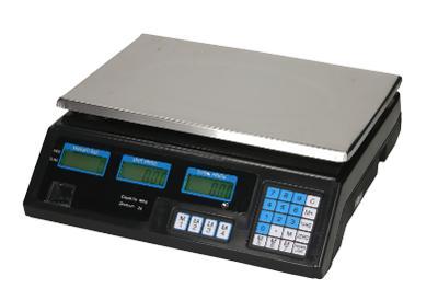 Digitální stolní váha ACS do 30kg/5g, faktura DPH