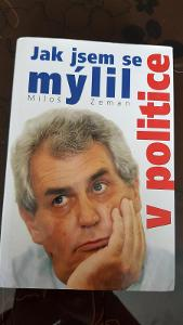 Kniha Jak jsem se mýlil v politice - Miloš Zeman