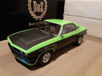 Opel Manta TE 2800 Green & Black 1975 1:18 BoS