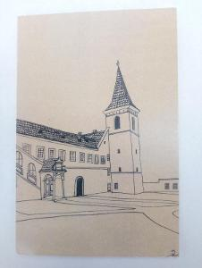 ČESKÝ KRUMLOV - klášter