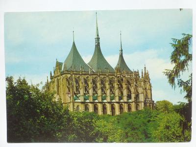 Kutná Hora - Chrám sv. Barbory - monumentální dílo pozdní gotiky