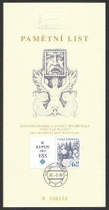 PAL - Pamětní list Ostropa 2003 /ZCR-PAL.232