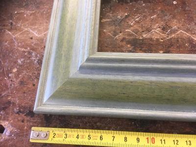 Dřevěné rámy 304x404mm šíře lišty cca 60mm  lze i jiný rozměr