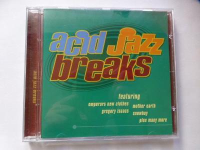 CD   acid jazz breaks   - OD KORUNKY !!!