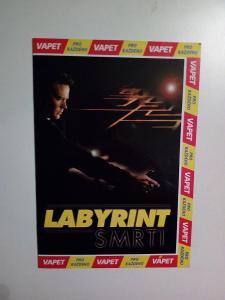 DVD, film Labyrint smrti