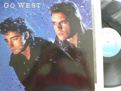 Original HIT LP : GO WEST - Go West / WE CLOSE OUR EYES perfekt stav