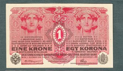 1 koruna 1916 serie 1318 stav 0