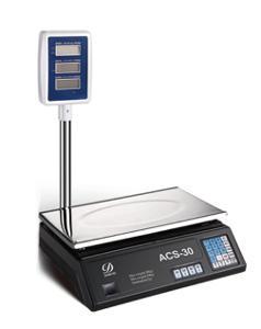 Digitální stolní váha ACS do 40kg/2g se stopkou, faktura DPH