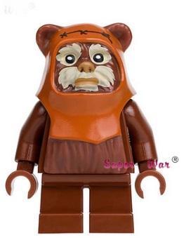 figurka Ewok Star Wars doplněk pro lego