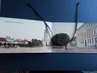 Praha východ Kostelec nad Černými lesy rozkládací dvoudílná náměstí