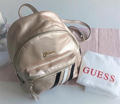 GUESS - zlatý batoh - originál GUESS