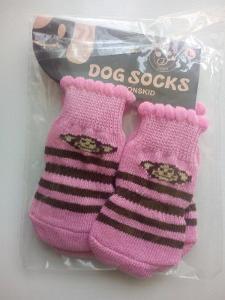 Ponožky pro yorkšírka L