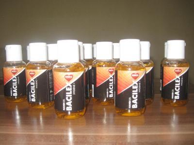 Čistící gel na ruce s vysokým obsahen alkoholu
