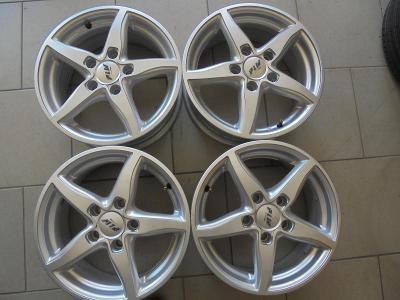 15 Alu disky VW Touran, Caddy, Golf,  Škoda, Seat, 5x112mm,ET45
