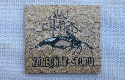 CD - A NEW CHAPTER / ZANECHAT STOPU 2016