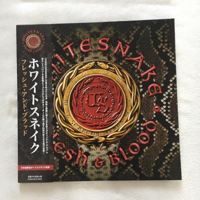 Whitesnake LP vinyl - gramofonova deska - Made in Japan-barevná-2LP