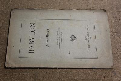 STARÁ BROŽURA BABYLON ROK 1901