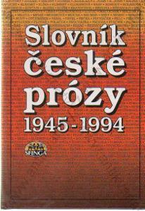 Slovník české prózy kol. autorů 1994