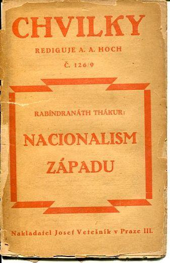 R. Thákur: NACIONALISM ZÁPADU 1921