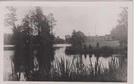 Počátky (Potschatek)- partie- rybník