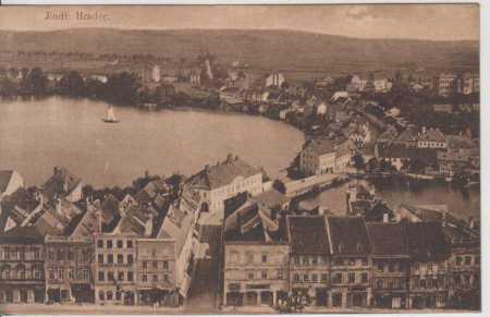 Jindřichův Hradec- celkový pohled