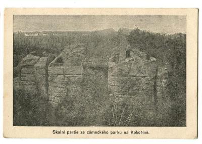 Kokořín, Mělník, skalní hrad z Máchových C