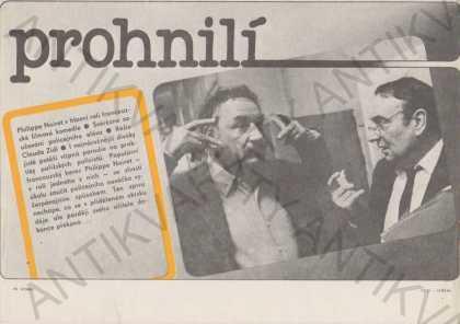 Prohnilí film plakát Philippe Noiret 21x30 cm