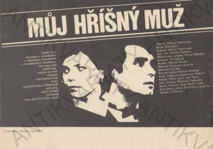 Můj hříšný muž film plakát Matějka Pawlowská