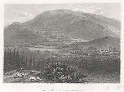 Rožnov pod Radhoštěm, Meyer, oceloryt, 1850