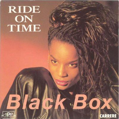 "BLACK BOX - Ride On Time (7""singl)´1989 TOP ITALO DISCO HIT"