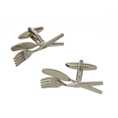 Manžetové knoflíčky příbor vidlička a nůž