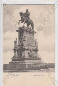 Poděbrady, pomník krále Jiřího, DA