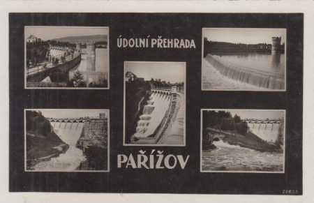 Pařížov- údolní přehrada (Doubravka), více záběrů