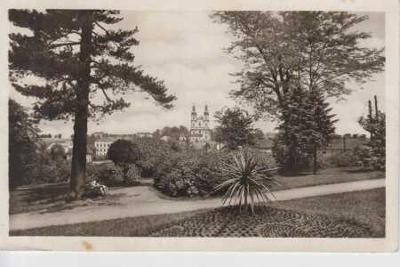 Frýdek - Místek, kostel za parkem
