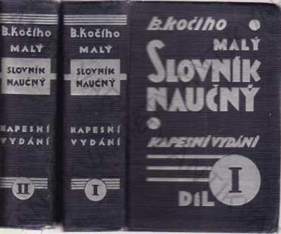 Malý slovník naučný B. Kočí 1929