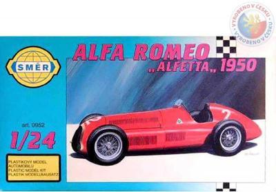 Směr Model auto Alfa Romeo 1947 1:24
