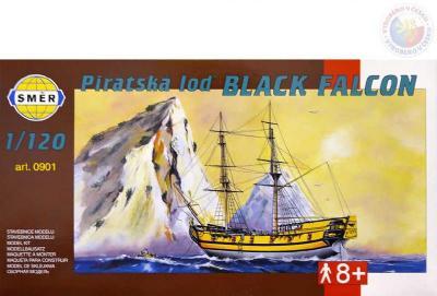 Směr Model loď Black Falcon 1:120