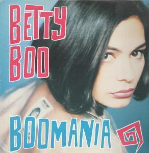 BETTY BOO-BOOMANIA LP ALBUM/ENGLAND 1990.