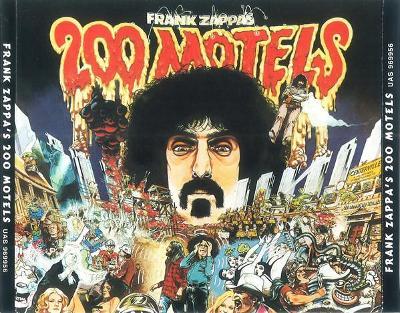 2CD FRANK ZAPPA - 200 MOTELS