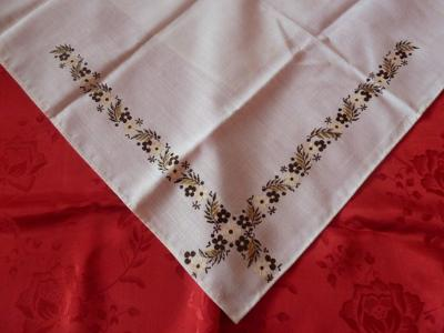 Kroj malovaný šátek