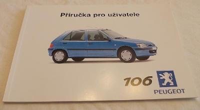 PEUGEOT 106 - návod k obsluze česky - příručka