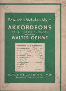 Bohworth´s Melodien-Album für Akkordeons W. Oehme