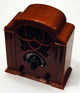 Rarita minireplika radia hrající Allocchio ZEX2