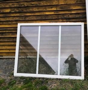 Plastové okno pevné141x179cm