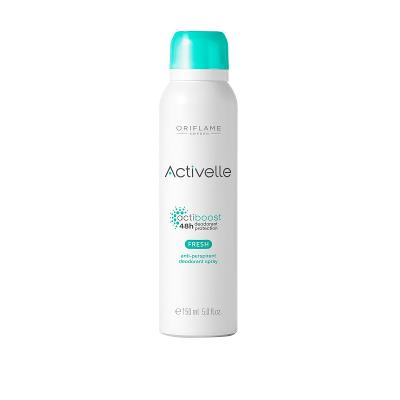 Antiperspirant deodorant ve spreji Activelle Fresh Oriflame 33145