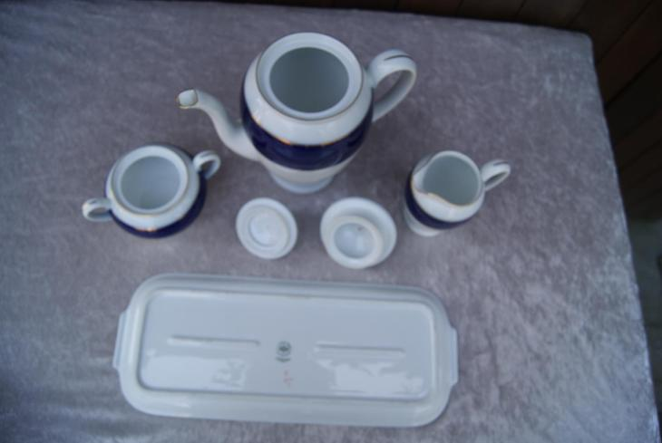 Kavovy servis-Rosenthal-kobalt - Porcelán