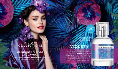 AVON COLLECTIONS VIOLETA EDT 50ml