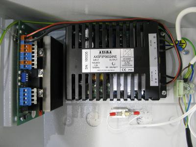 AXSP K40/24V- 6A - Zálohovaný spínaný napájecí zdroj v krytu