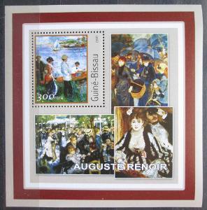 Guinea-Bissau 2001 Umění, Pierre-Auguste Renoir Mi# 1627 Block 0575